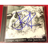 Cd Rage Against The Machine Autografado   Queima Estoque