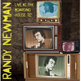 Cd Randy Newman Live At The Boarding House  72