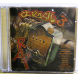 Cd Rap Brasil Vol 3 Mc Marcinho Solitario Raro Funk Black