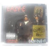 Cd Rap Eazy e Compton Eazy Duz It Nwa Lacrado Importado Usa