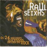 Cd Raul Seixas   Os 24 Maiores Sucessos Da Era Do Rock