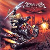 Cd Rebellion  Born A Rebel Uwe Lulis Novo Guitar Do Accept