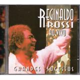 Cd Reginaldo Rossi   Ao Vivo Grandes Sucessos