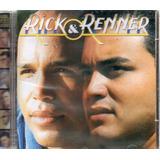 Cd Rick E Renner Mil Vezes Cantarei Original