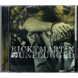 Cd Ricky Martin   Mtv Unplugged