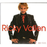 Cd Ricky Vallen   Ao Vivo