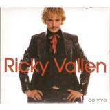 Cd Ricky Vallen   Ao Vivo