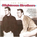 Cd Righteous Brothers   The Great   Novo Importado