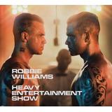 Cd Robbie Williams The Heavy Entertainment Show Lacrado