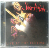 Cd Rock I: Jimi Hendrix   Live At Pop Festival 2012  a  C73