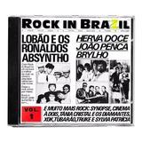 Cd Rock In Brazil 1985 Absyntho Herva Doce Lobão Brylho