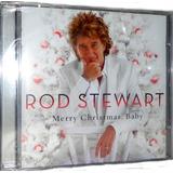 Cd Rod Stewart   Merry Christmas Baby
