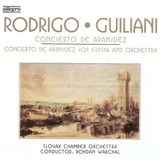 Cd Rodrigo guiliani   Concierto De Aranjuez   Novo