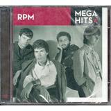 Cd Rpm Maiores Sucessos Mega Hits Original Lacrado