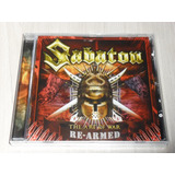 Cd Sabaton   The Art Of War Re armed  alemão 4 Bônus  Lacrad
