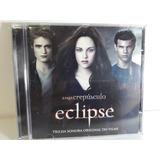 Cd Saga Crepúsculo Eclipse Importado Trilha Sonora