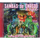 Cd Sambas De Enredo Do Rio De Janeiro   2020