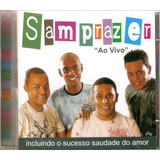 Cd Samprazer   Ao Vivo   Novo Lacrado
