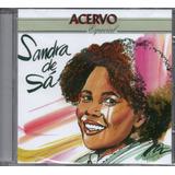 Cd Sandra De Sá   Acervo Especial