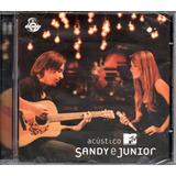 Cd Sandy E Junior   Acústico Mtv