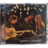 Cd Sandy E Junior   Acústico