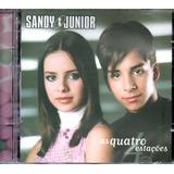 Cd Sandy E Junior   As Quatro Estacões