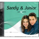 Cd Sandy E Junior   Serie Sem Limite Cd Duplo 30 Sucessos