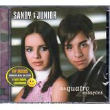 Cd Sandy E Junior As Quatro Estações   Novo Lacrado Raro