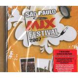 Cd São Paulo Mix Festival 2007 Cpm 22 Tihuana Fresno Lacrado
