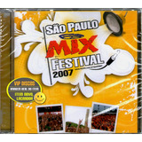Cd São Paulo Mix Festival Com Fresno Nx Zero Cpm 22 Raro