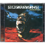 Cd Scorpions Acoustica Novo Lacrado