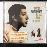 Cd Serge Gainsbourg Du Jazz Dans Le Ravin Lacrado Import