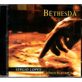 Cd Sergio Lopes   Bethesda  Bônus Playback