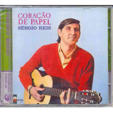 Cd Sérgio Reis   Coração De Papel   1967   Lacrado