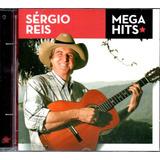 Cd Sérgio Reis   Mega Hits