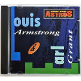 Cd Serie Dois Astros   Louis Armstrong Earl Grant   Ce