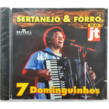 Cd Sertanejo Forró Jt   7   Dominguinhos   Ba