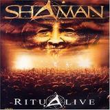 Cd Shaman   Ritual Live   Novo E Lacrado