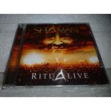 Cd Shaman Ritualive 2003 Br Lacrado