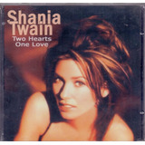 Cd Shania Twain    Two Hearts One Love