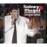 Cd Sidney Magal   Ao Vivo Coração Latino