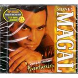 Cd Sidney Magal Aventureiro Grandes Sucessos Em Versão Remix