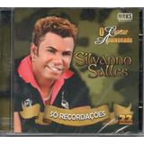 Cd Silvanno Salles   Só Recordações 22 Sucessos