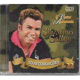 Cd Silvano Salles   Só Recordações   22 Sucessos