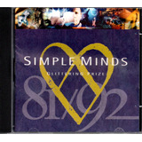 Cd Simple Minds   Glittering Prize