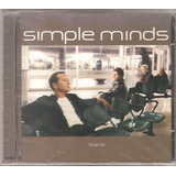 Cd Simple Minds   Neapolis  1998  Rock Escocia original Novo