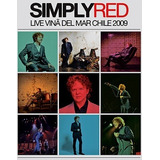 Cd Simply Red   Live Vina Del Mar Chile 2009