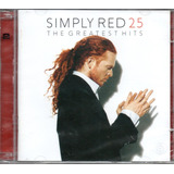 Cd Simply Red 25 The Greatest Hits