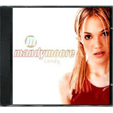 Cd Single   Mandy Moore  2000  Candy  importado