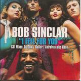 Cd Single   Bob Sinclar   I Feel For You   Importado   Uk